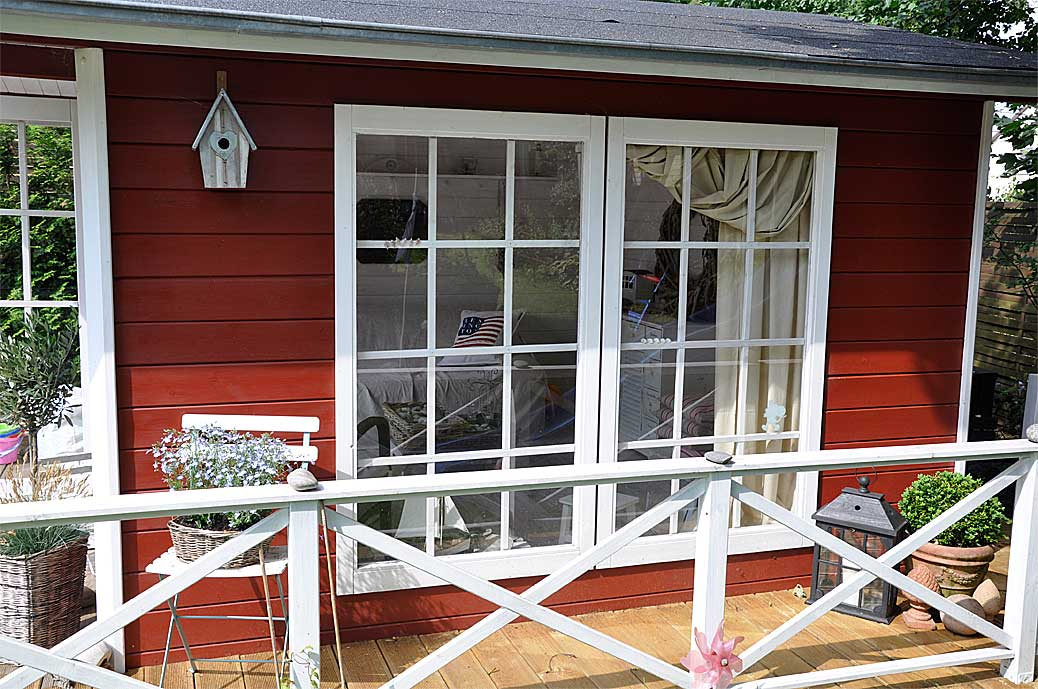 Maritimer Gartenhaus am Schwedenhaus