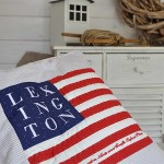 Kissen Lexington Flagge