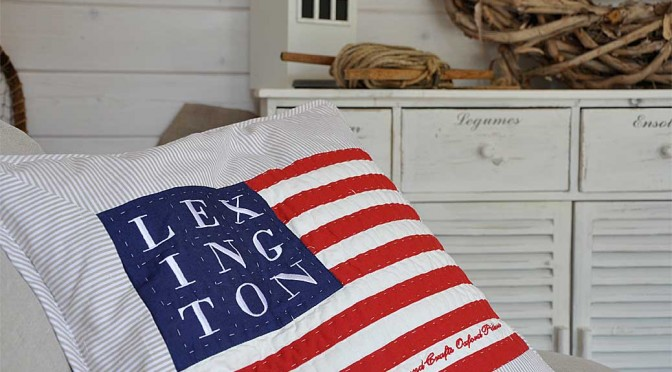 Lexington Kissenhülle Arts & Crafts Sham Flag