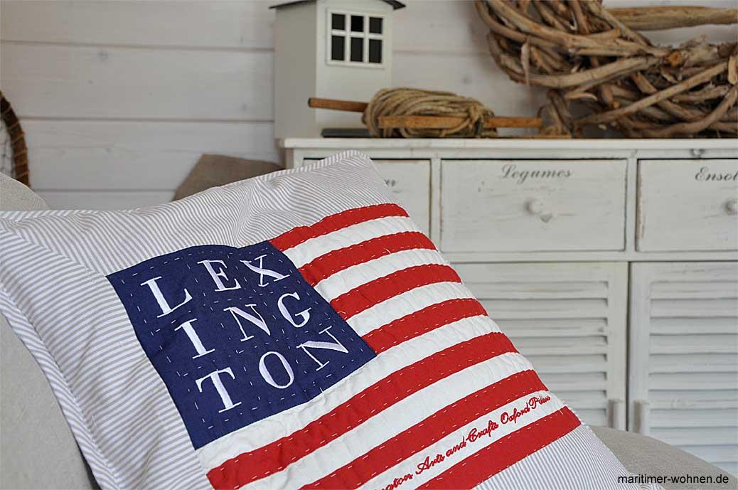 Kissen Lexington Flagge