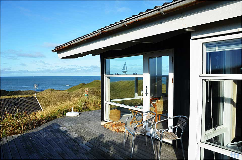 Dänemark + ferienhaus am meer