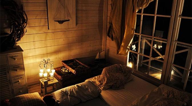 Übernachtung im Gartenhaus