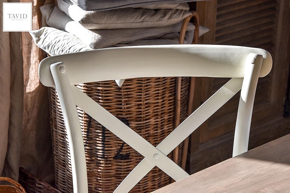 Stühle Kreuz Stuhl Esszimmer Bugholz maritim